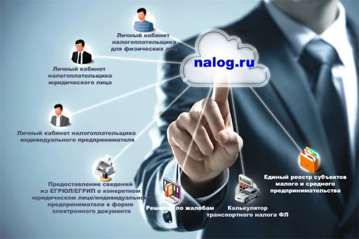 зарегистрироваться физическому лицу на Налог.ру